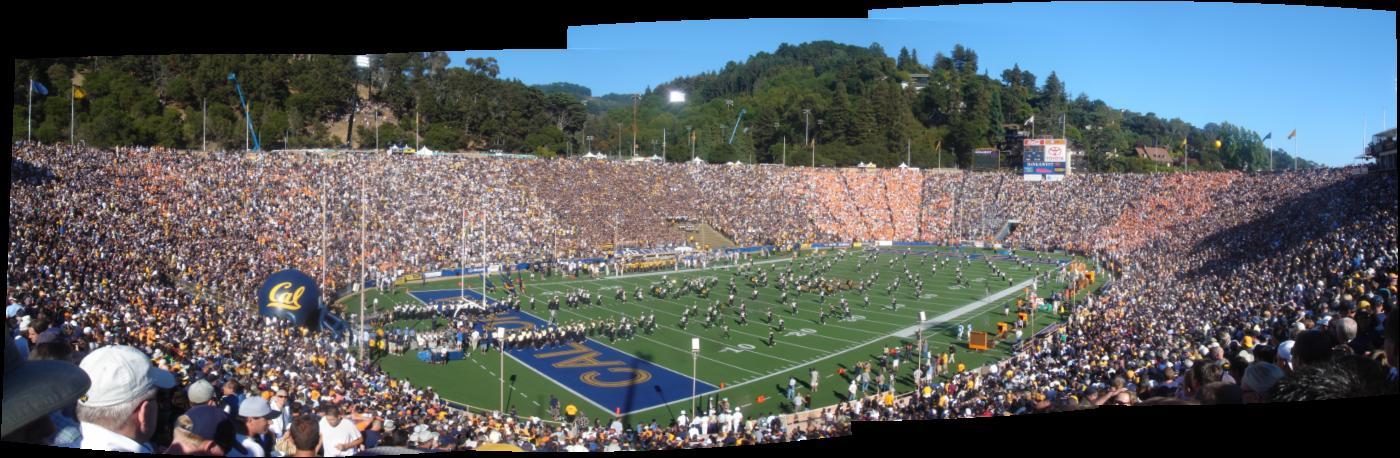 Cal (45) -vs- Tenn (31) : Memorial Stadium, Berkeley CA 09-01-07